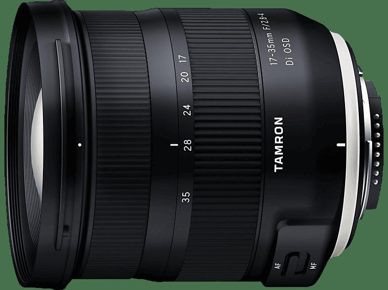 TAMRON 17 mm-35 mm f/2.8-4 Di, OSD (Objektiv für Nikon FX-Mount, Schwarz)