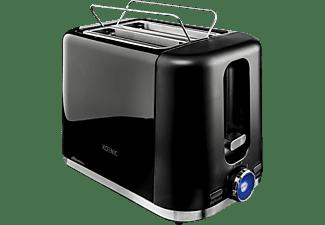 KOENIC KTO 2210 B Toaster Schwarz (870 Watt, Schlitze: 2)