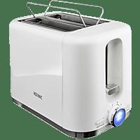 KOENIC KTO 2210 W Toaster Weiß (870 Watt, Schlitze: 2)