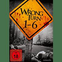 Wrong Turn 1-6 [DVD]