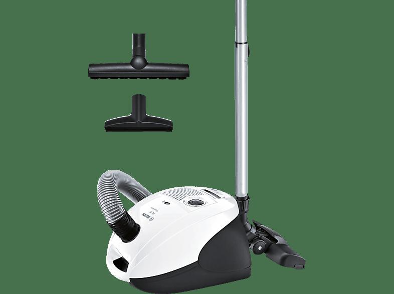 BOSCH BSGL2A340 (Mit Beutel, UltraAllergy-Filter, Weiß)