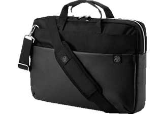 HP Duoton Notebooktasche Aktentasche für Universal, Schwarz/Silber