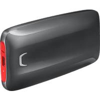 SAMSUNG Portable SSD X5, 500 GB SSD, extern, Schwarz