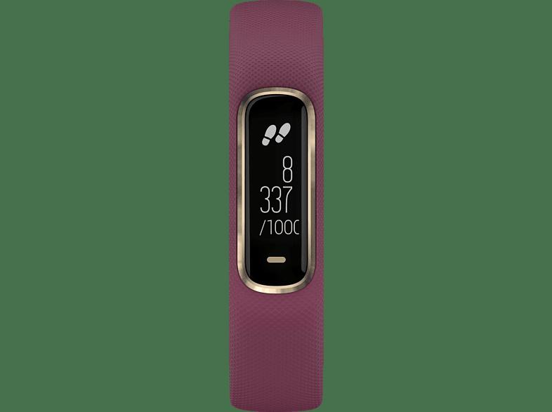 GARMIN Vivosmart 4, Smartwatch, S/M, Merlot/Rose