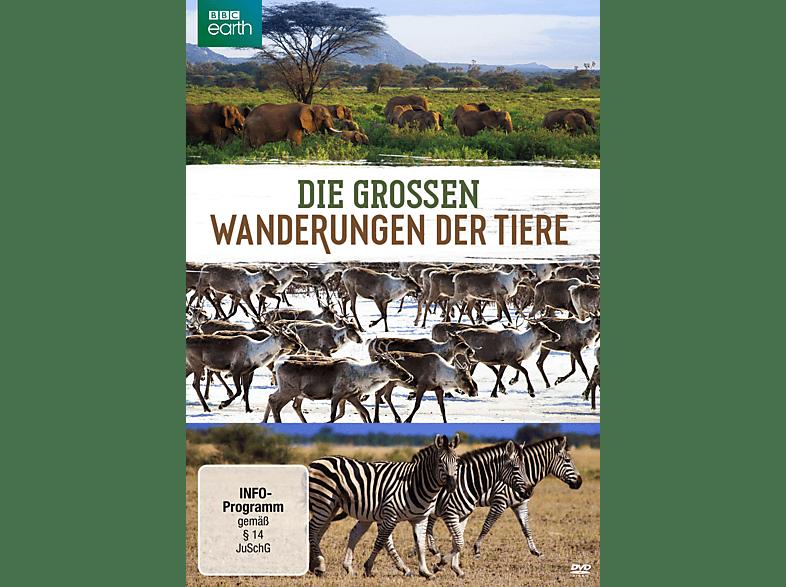 Die großen Wanderungen der Tiere [DVD]