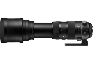 SIGMA 740955 Sports 150 mm - 600 mm f/5-6.3 DG (Objektiv für Nikon F-Mount, Schwarz)