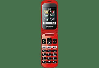 EMPORIA Klapphandy One V200 schwarz/rot