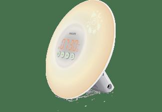 PHILIPS Wake-up Light HF3503/01 Lichtwecker für Kinder mit Licht und Ton, weiß