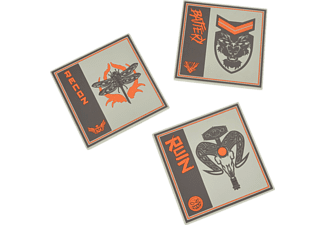 NUMSKULL Call of Duty Black Ops 4 Silicone Coasters (3 Pack) Untersetzer, Mehrfarbig