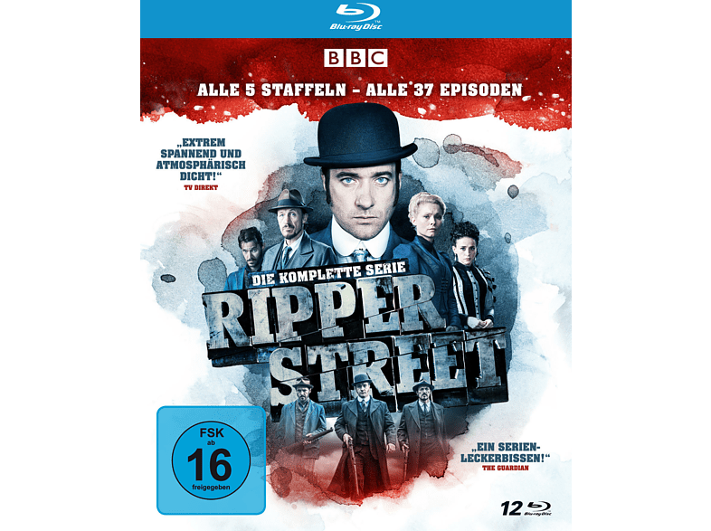 Ripper Street - Die komplette Serie [Blu-ray]