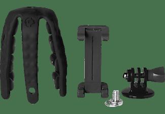 CELLY Stativ Squiddy für Smartphone und Kamera bis zu 6.2 Zoll, schwarz (SQUIDDYBK)