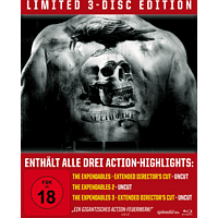 The Expendables Trilogy - lim. Steelbook [Blu-ray]