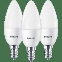 PHILIPS Kerze E14 Lampe E14 warmweiß 5.5 Watt 470 Lumen