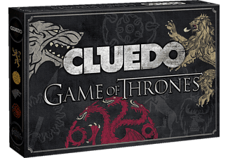 WINNING MOVES Cluedo Game Of Thrones Brettspiel, Mehrfarbig