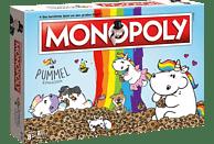 WINNING MOVES Monopoly Pummeleinhorn Brettspiel, Mehrfarbig