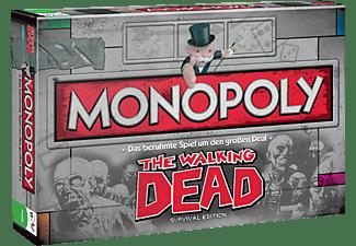 WINNING MOVES Monopoly The Walking Dead Brettspiel Mehrfarbig