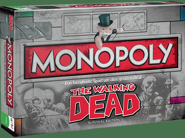 WINNING MOVES Monopoly The Walking Dead Brettspiel, Mehrfarbig
