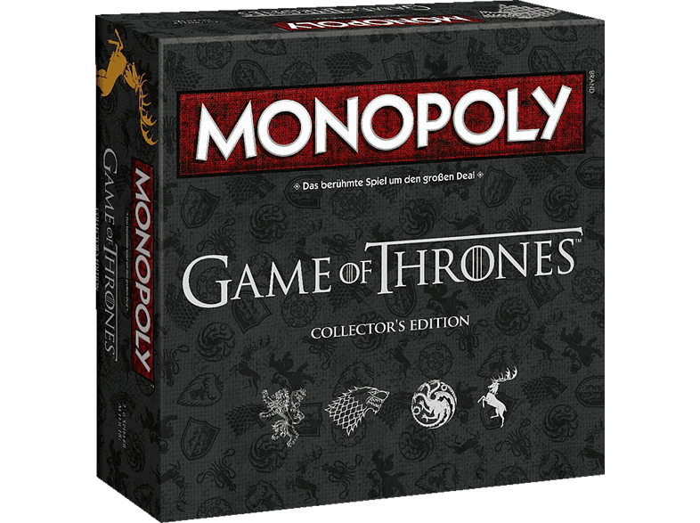 WINNING MOVES Monopoly Game Of Thrones Brettspiel, Mehrfarbig