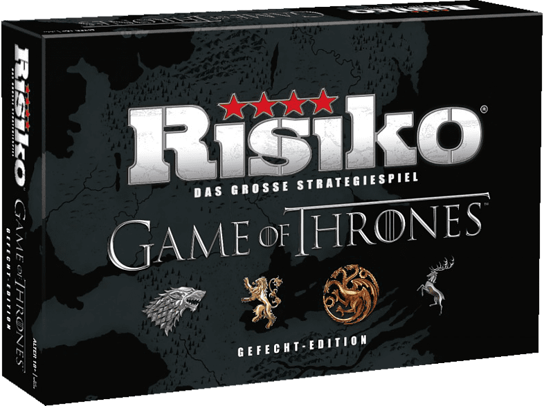 WINNING MOVES Risiko Game Of Thrones Gefechts Brettspiel, Mehrfarbig