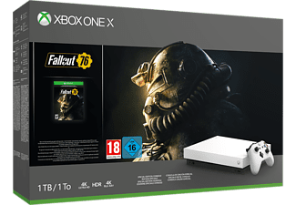 MICROSOFT Xbox One X White Special Edition + Fallout 76