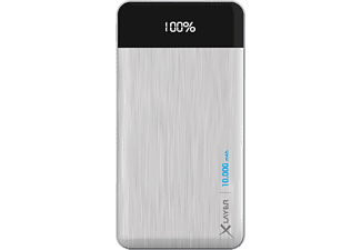 XLAYER X-Charger Powerbank 37 Wh (3.7V / 10000 mAh) Silber