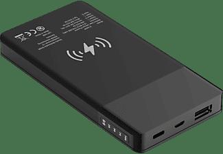 XLAYER PLUS Wireless Powerbank 18 Wh (3.6V / 5.000 mAh) Schwarz