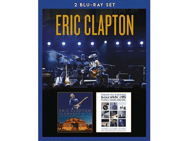 Eric Clapton - SLOWHAND AT 70+PLANES TRAINS AND ERIC [Blu-ray]