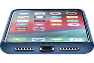 CELLULAR LINE SENSATION , Backcover, Apple, iPhone XS Max, Silikon, Blau
