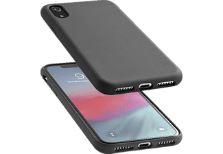 CELLULAR LINE Case SENSATION mit soft touch Oberfläche für Apple iPhone Xr, schwarz