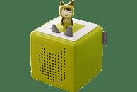 BOXINE Audiosystem Tonies Toniebox - Starterset - inkl. Kreativ Tonie Audiosystem, Grün