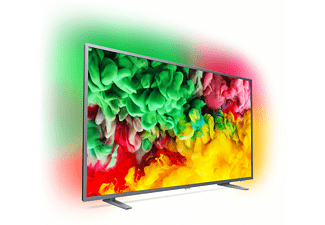 PHILIPS 43PUS6703/12 LED TV (Flat, 43 Zoll / 108 cm, UHD 4K, SMART TV, Ambilight, SAPHI)