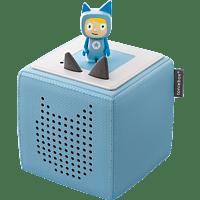 BOXINE Audiosystem Tonies Toniebox - Starterset - inkl. Kreativ Tonie Audiosystem, Hellblau