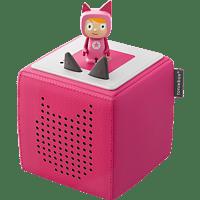 BOXINE Audiosystem Tonies Toniebox - Starterset - inkl. Kreativ Tonie Audiosystem, Pink