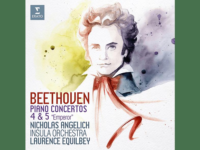 Nicholas Angelich, Laurence Equilbey, Insula Orchestra - Klavierkonzerte 4 & 5 [CD]