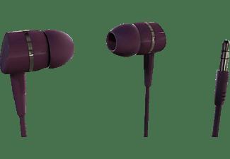 VIVANCO Solidsound Stereo Earphones, berry