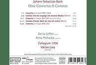 Anna Prohaska, Collegium 1704, Löffler Xenia, Vaclav Luks - OBOE CONCERTOS & CANTATAS [CD]