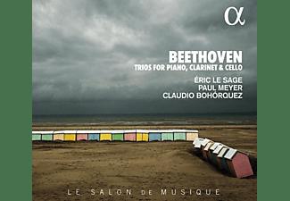 Paul Meyer, Eric Le Sage, Claudio Bohorquez - Trios for Piano, Clarinet & Cello  - (CD)
