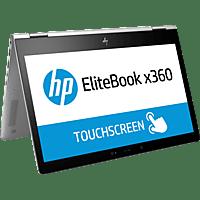 HP EliteBook x360 1030 G2, Convertible mit 13.3 Zoll Display, Core™ i5 Prozessor, 8 GB RAM, 256 GB SSD, Intel® HD-Grafik 620, Silber