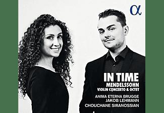 Anima Eterna Brugge, Jakob Lehmann, Chouchane/+ Siranossian - Violin Concerto & Octet  - (CD)