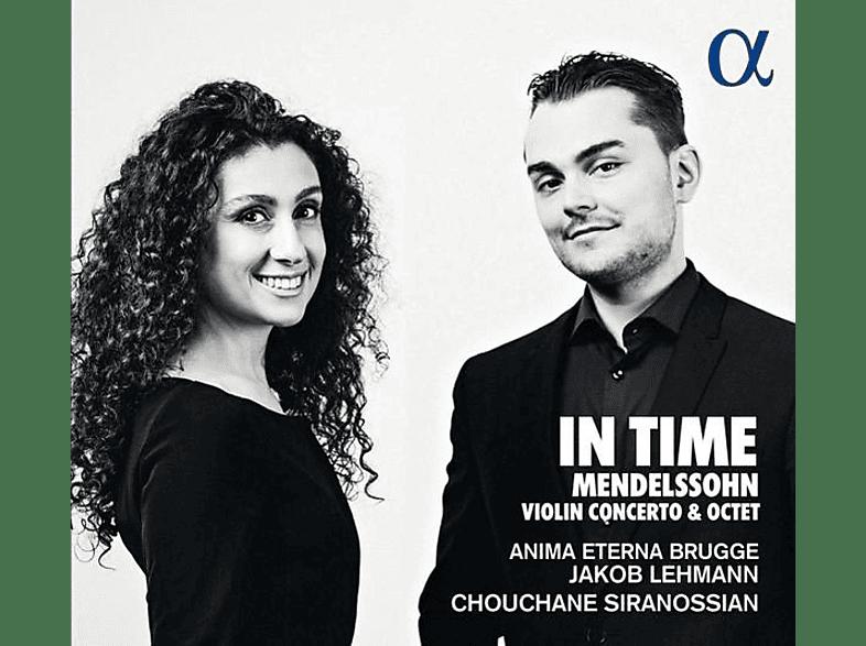 Anima Eterna Brugge, Jakob Lehmann, Chouchane/+ Siranossian - Violin Concerto & Octet [CD]