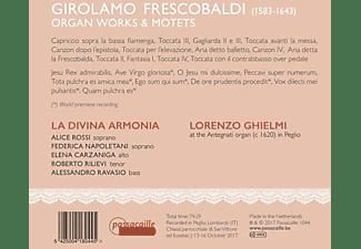 Lorenzo Ghielmi, La Divina Armonia - ORGAN WORKS & MOTETS  - (CD)