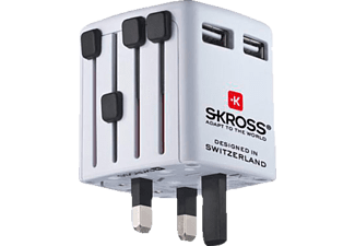 SKROSS NA 734 World - Caricatore USB (Bianco)