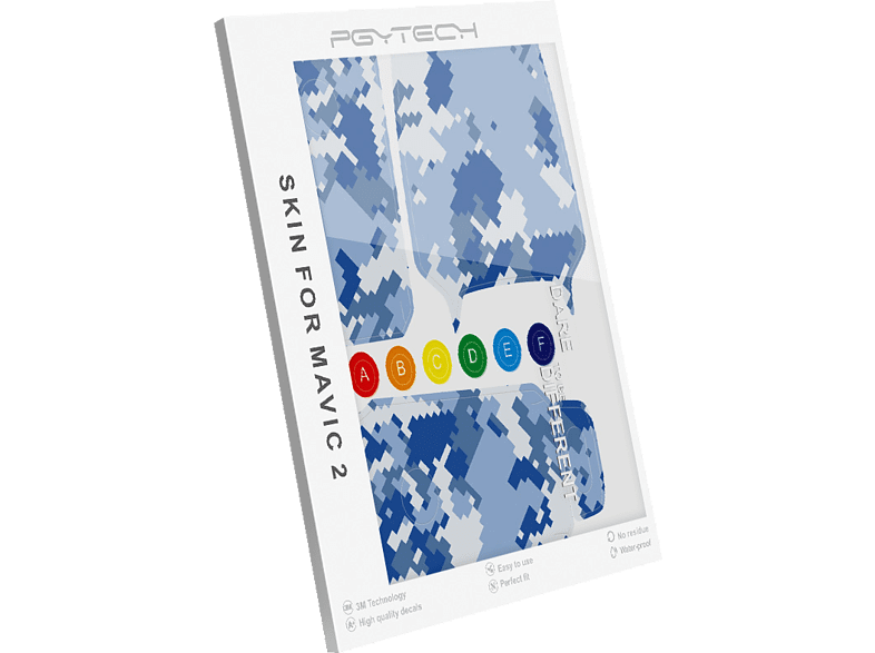 PGYTECH Skin Aufkleber HA-051 für DJI Mavic 2 Pro / Zoom Dekoration-Aufkleber