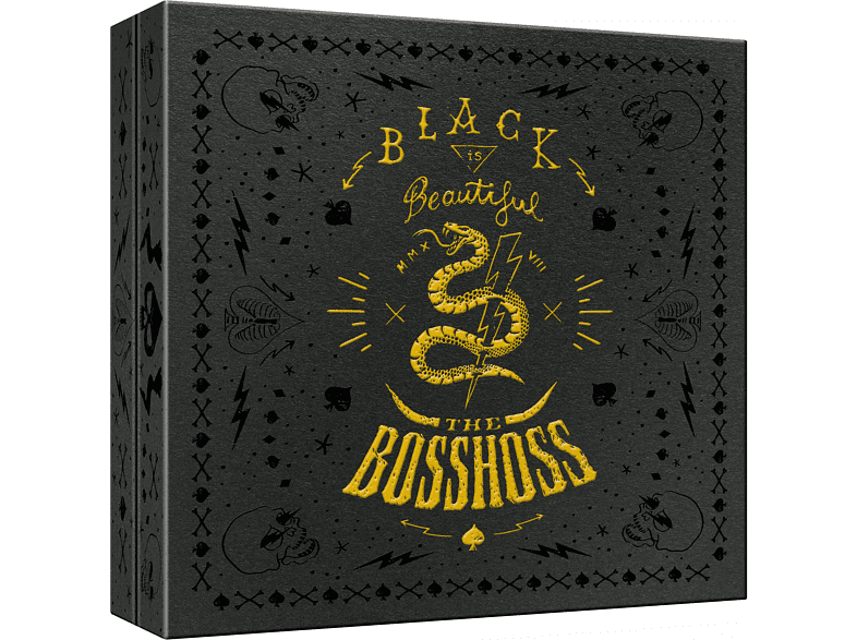 The BossHoss - Black Is Beautiful (Limited Super Deluxe Fanbox) [CD + DVD Video]