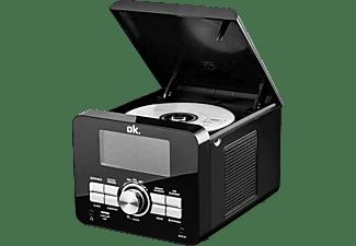 OK. OCR 100 Uhrenradio, FM, FM, Schwarz
