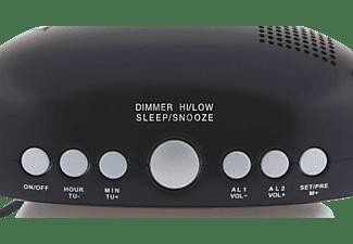 OK. OCR 210 Radio-Wecker, FM, FM, Schwarz