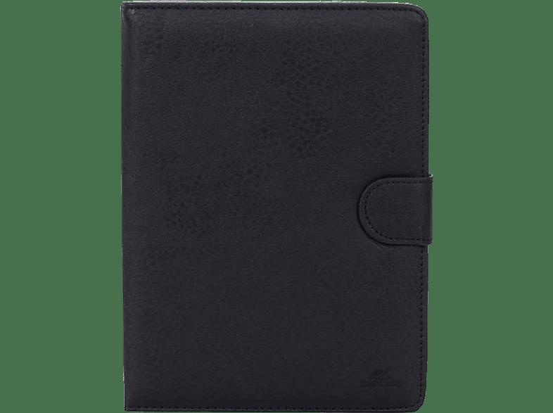 RIVACASE 3014 Tablethülle, Bookcover, Schwarz
