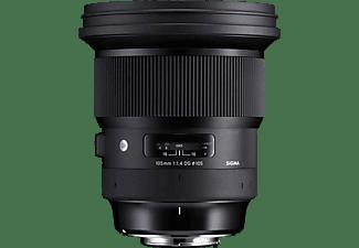 SIGMA 259954 105 mm - 105 mm f/1.4 DG, HSM (Objektiv für Canon EF-Mount, Schwarz)