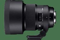 SIGMA 105 mm-105 mm f/1.4 DG, HSM (Objektiv für Sigma SA-Mount, Schwarz)