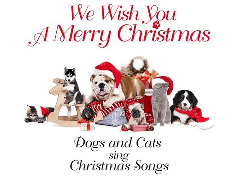 Dogs And Cats Sing Christmas Songs - We Wish You A Merry Christmas [CD]
